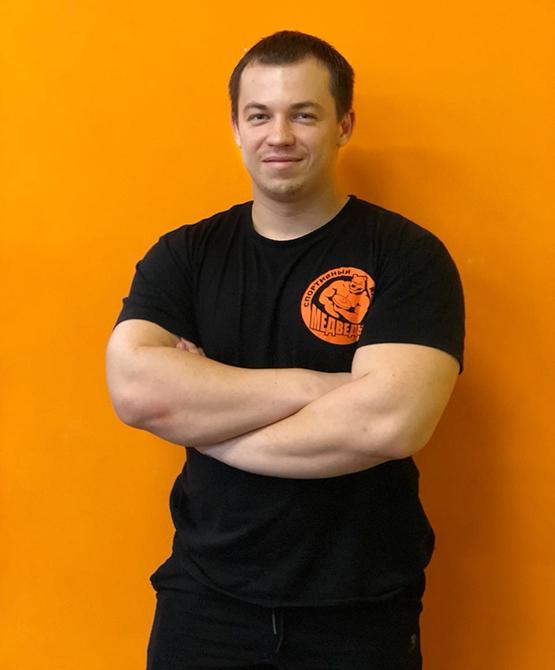 Павел Житник тренер тренажерного зала СК Медведь Краснодар